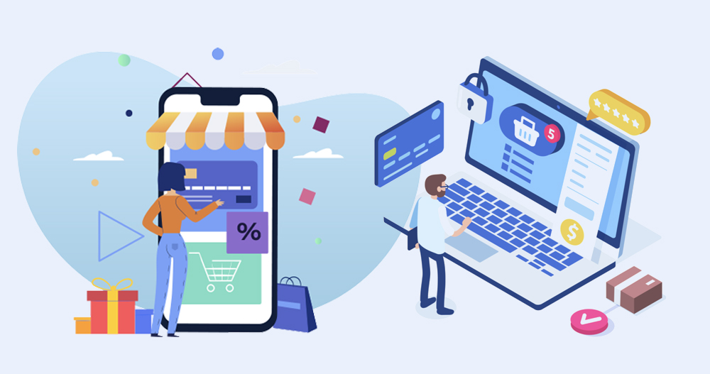 ecommerce website development RCD